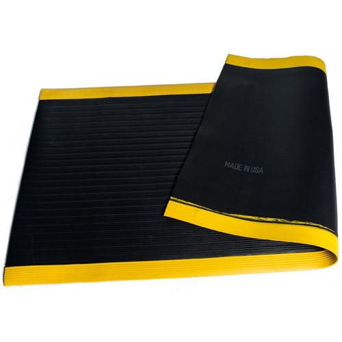 Black_Anti_Fatigue_Mat_Yellow_Border_Ribbed2